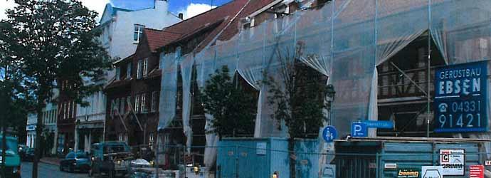 Königstraße 5 in der Bauphase