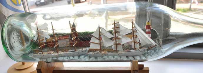 Rendsburger Schiffahrtsarchiv Buddelschiffe