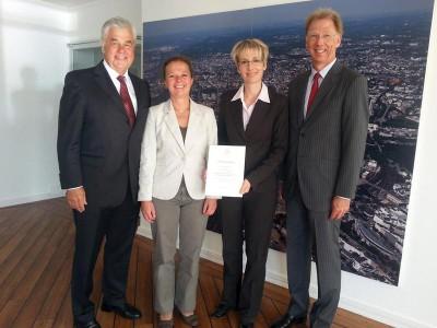 Bildquelle: BWVI, Senator Horch übernimmt Patenschaft